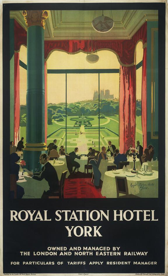 Poster Royal Station Hotel York Science Museum Group