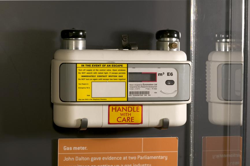 Model E6 Ultrasonic Gas Meter Science Museum Group