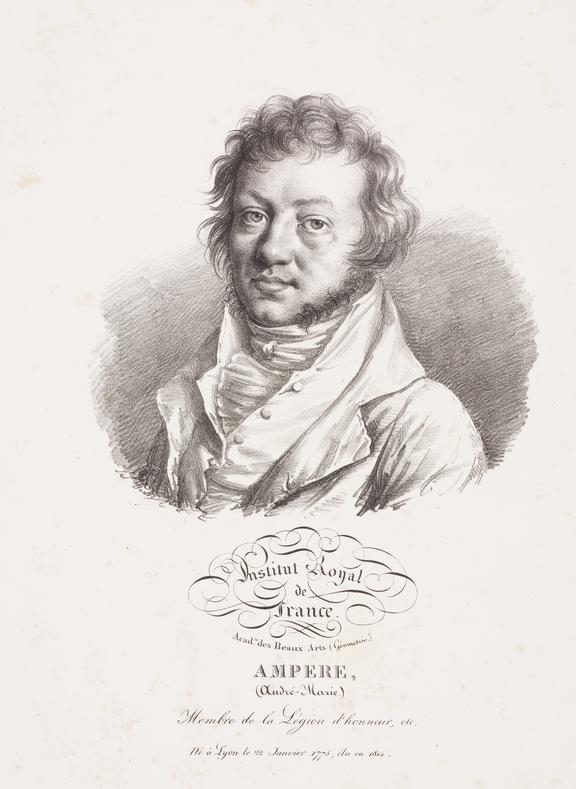 short notes on andre marie ampere Short history of the discovery of electromagnetism by oersted and ampere site map: andre-marie ampére in france felt that if a note that no iron is.