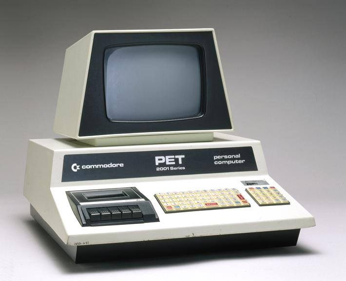 Commodore PET 2001-8-BS person...