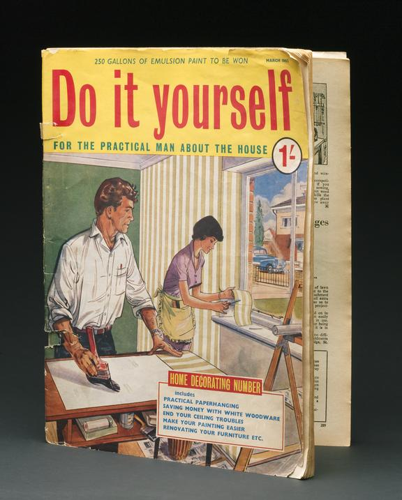 'Do It Yourself' Magazine, March 1962. Printed By